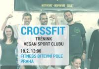 Veřejný trénink Vegan sport clubu- Crossfit