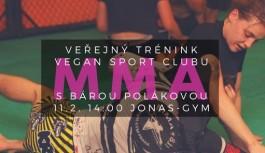 Veřejný trénink Vegan sport clubu- MMA