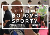 Bojové sporty s Vegan sport clubem (pravidelné tréninky!!)