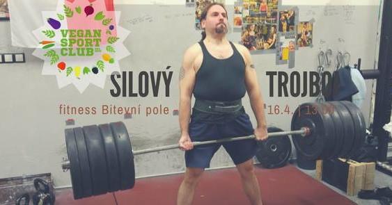 Silový trojboj – veřejný trénink