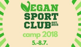 Vegan sport club camp 2018