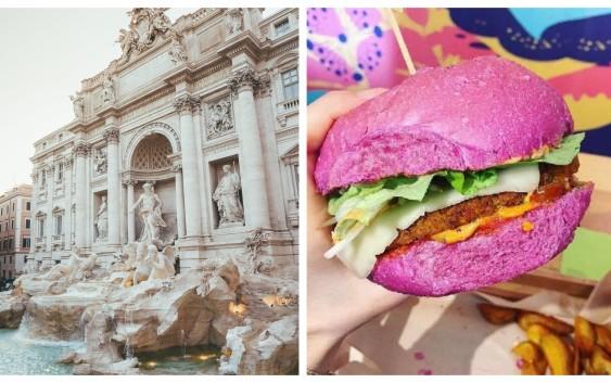 Vegan na cestách: Řím