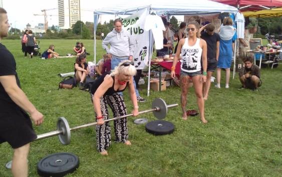 Veřejný trénink Vegan sport clubu II
