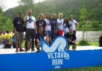 Vegan team na Vltava run