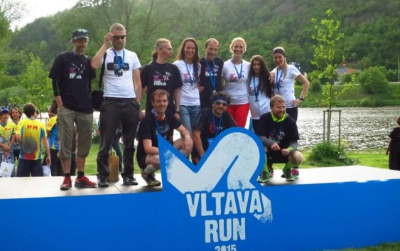 Vegan team na Vltava run